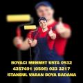 GÜNEŞLİ BOYACI MEHMET USTA 0506 023 3217 VARAN BOYA BADANA USTASI