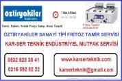 Öztiryakiler Fritöz Tamir Servisi 0532.628.38.41